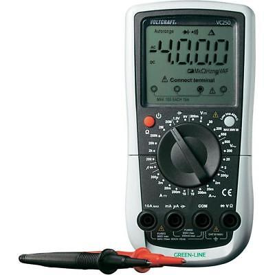 Voltcraft VC250 Hand-Multimeter digital CAT III 600 V Anzeige 2000 Counts 4T