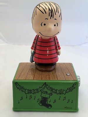 Hallmark 2017 Peanuts Dance Party LINUS with Music & Motion NWT