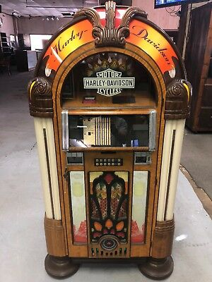 Joe Robison's Harley-Davidson 100 CD Jukebox  - Non Working Needs Power Source