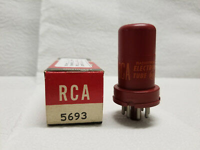 5693 RCA vacuum tube - tests strong
