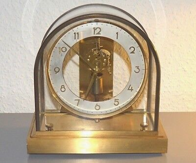JUNGHANS ,,ATO'' Vintage electric clock. Made in Germany. Brass. Working order
