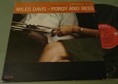 LP MilesDavis - Porgy and Bess - Columia 1958 - CL 1274 - 2 Eye's