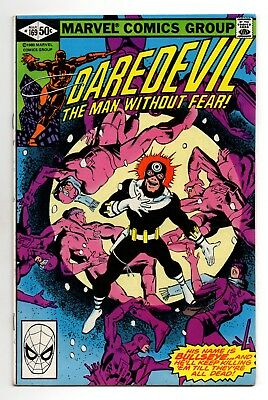 Daredevil Vol 1 No 169 Mar 1981 (VFN+) Bullseye, 2nd app of Elektra