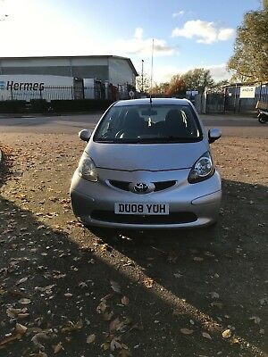 Silver 2008 Toyota Aygo for sale