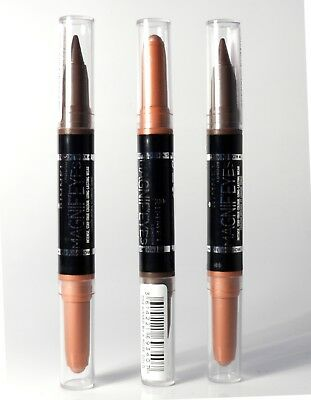 Rimmel Magnif'Eyes Double Ended Shadow and Liner - Kissed by a Rose Gold