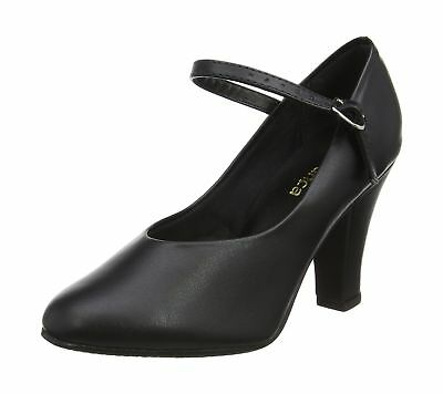 So Danca Girls' Ch53 Character Shoes Black (Black) 1 UK