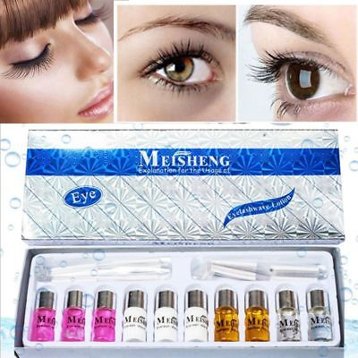 Lift Pad Eyelash Perming Set Nutritious Growth Treatments with Perm Rods Kit