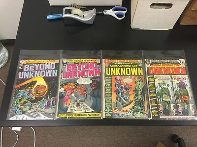 DC Comics: From Beyond the Unknown (1969) Partial lot #3, 4 (2 copies), 8, 13