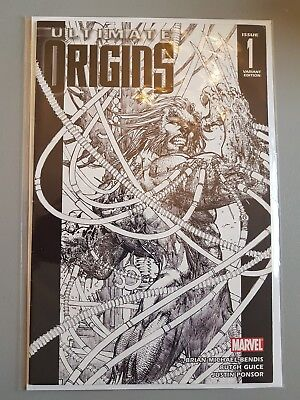 Ultimate Origins #1 Michael Turner Retail Sketch Variant  Marvel Wolverine