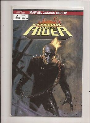 Cosmic Ghost Rider #1 Gabrielle Dell'Otto Variant Marvel 2018 Thanos