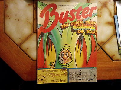 Buster Comic The Comic That Grows On You 25 July 1987
