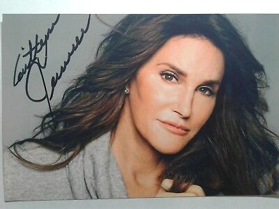 Caitlyn Jenner Authentic Hand Signed Autograph 4X6 Photo ! BRUCE