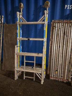boss youngman aluminium scaffold tower