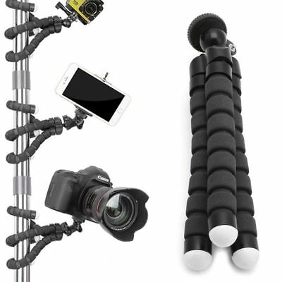 Flexible Tripod Stand Gorilla Mount Mono Pod Holder Octopus For Go Pro Camera