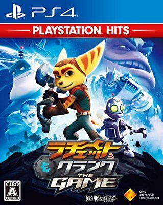 Ps4 Ratchet & Clank The Game Playstation Hits F/S