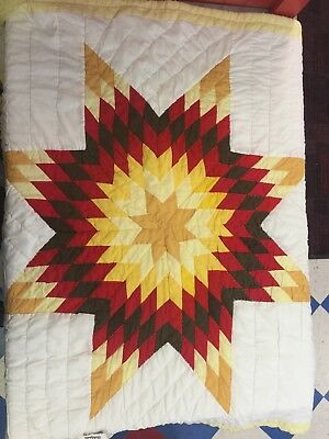 Native American star Quilt - Baby Starquilt-new