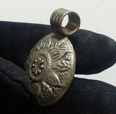 Extremely Ancient silver Viking Celtic Norse Pendant AMULET, EXTREMELY RARE