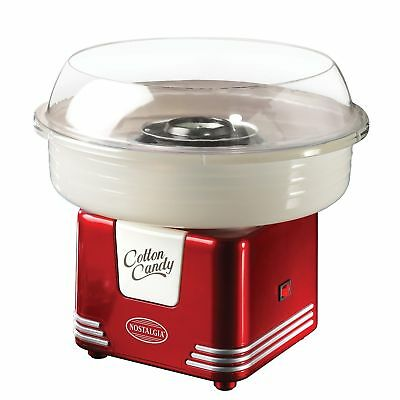Nostalgia Retro Hard Candy Kitchen Cotton Candy Electrics Maker 450 Watts NEW