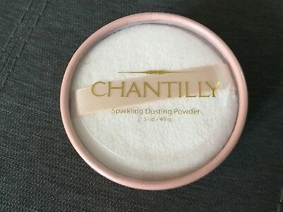 Dana Vintage Chantilly Sparkling Dusting Powder Sealed Discontinued RARE 1.5 OZ