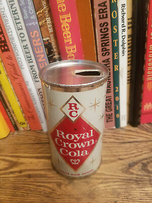 Royal Crown Cola 12oz Juice Tab Pull Ring Soda Can  Chicago   High Grade!