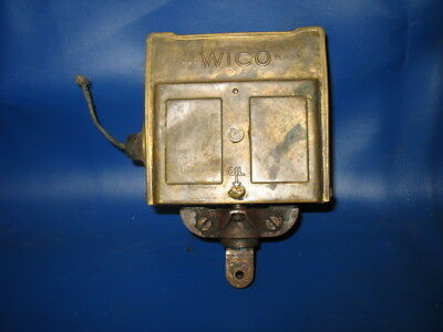 Old Vintage Hit Miss Gas Engine Wico EK Magneto Mag