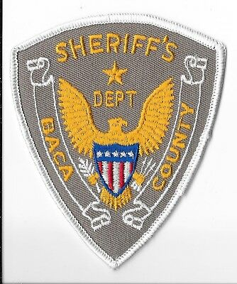 Baca County Sheriff's Department, Colorado Shoulder Patch