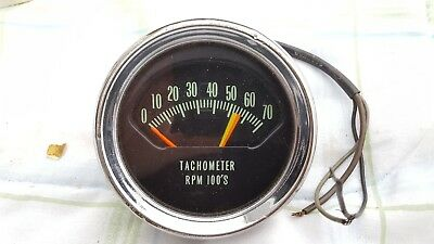 Original 1966 Chevelle Knee Knocker Tach Tachometer 66