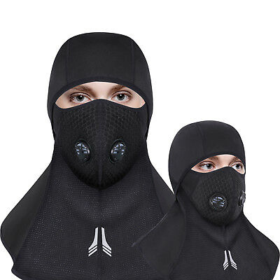 Balaclava Full Face Hat Cover Anti-spitting Dust Cycling Winter Protective Cap