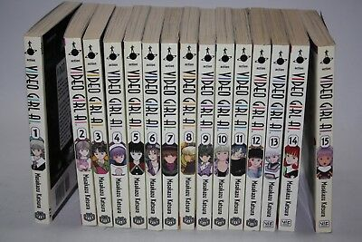 Video Girl Ai Manga Comic- Used Volumes 1 - 15 Complete Set First Edition