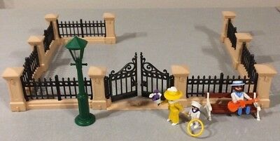 Playmobil Victorian Dollhouse Wrought Iron Fence Filler Spare Part 5360