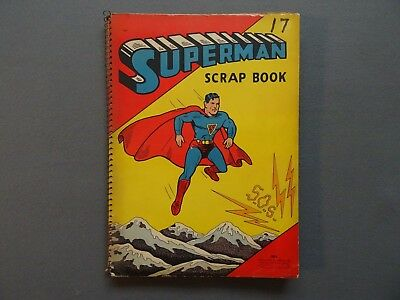 1940 SUPERMAN #2 Golden Age Superhero DC Comic Book Cover Scrapbook WWII German
