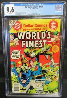 World's Finest Comics #245 (1977) Neal Adams Martian Manhunter CGC 9.6 CM2118