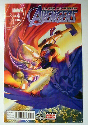 All New, All Different Avengers #4 Modern Age Marvel Comic Book 2016 NM