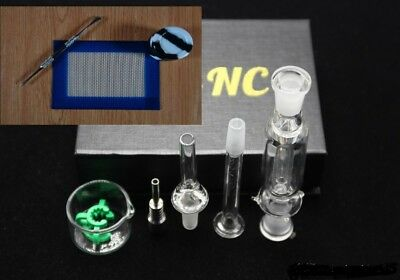 nectar collector kit + silicone jar + dab! tool + dab1 mat USA seller free ship