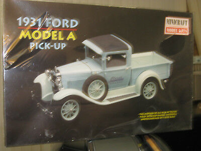 MINICRAFT 1931 FORD MODEL A pickup truck FACTORY SEALED 1/16 scale