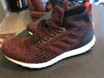 Adidas Ultra Boost ATR LTD Mid All Terrain Burgundy Men size 11.5 US  Ultraboost 060515807