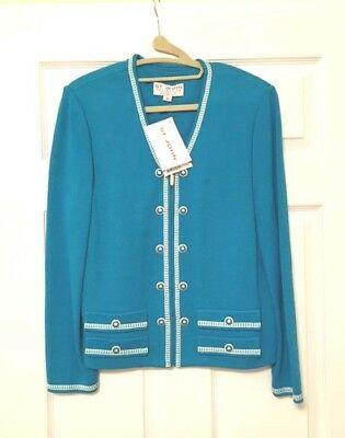 St. John Collection by Marie Gray Zipper Blazer $550 New with tags NWT 10