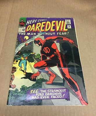 DAREDEVIL The Man Without Fear #10 1965 Silver Age Marvel Comics