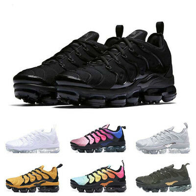2019 Mens Wmns Air Shock absorption Vapormax Plus Max Running Shoes Sneakers New
