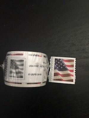 Roll 100 Forever 2017 U.S. Flag Coil Stamps ~ Sealed