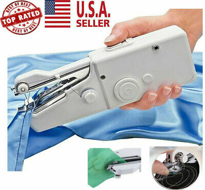 Portable Smart Mini Electric Tailor Stitch Hand-held Sewing Machine Home Travel