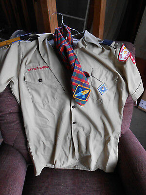 Boy Scouts of America Uniform Shirt Michigan Medium