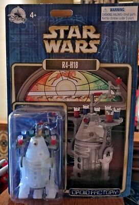 Disney Parks Exclusive Star Wars R4-H18 Droid Factory Christmas 2018 New Sealed