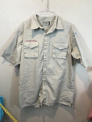 Boy Scouts Of America Shirt Adult Large