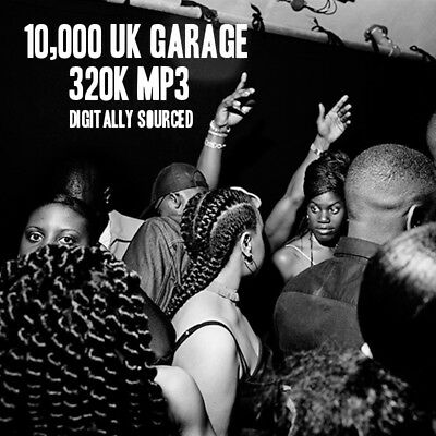Massive UK Garage Collection: 10,000 320K MP3 UKG & 2-Step Tracks