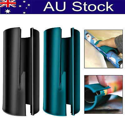 AU Wrapping Paper Cutter Christmas Cutting Tool Xmas Quick Sliding Seconds Wrap