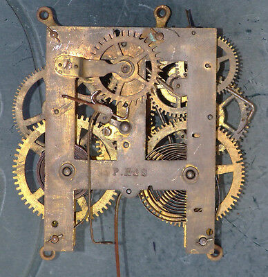 Old American Style 30hr Clock Movement