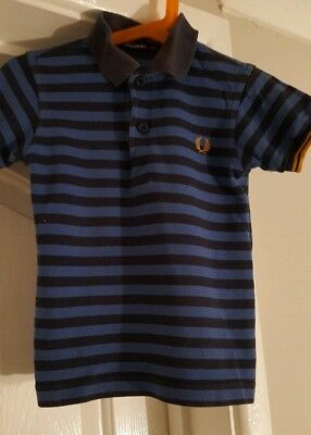 Boys Fred Perry polo shirt age 2-3 years