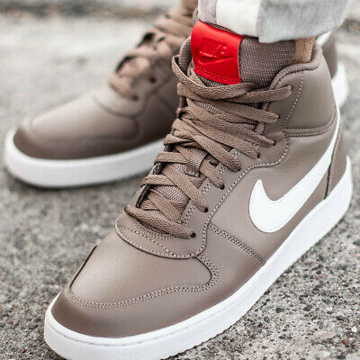 low priced 18c9a db299 NIKE EBERNON MID AQ1773-200 chaussures hommes montantes basket-ball sport  beige