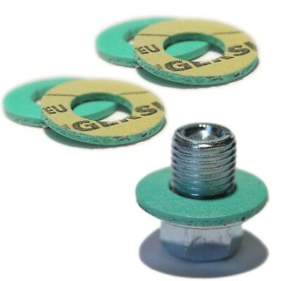 Toyota Oil Sump Plug & 5 Performance Oil Sump Washers 90341-12012 SP10W+